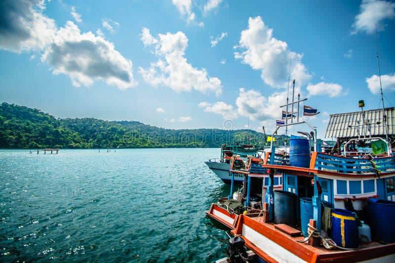 Rybaka morze Tajlandia zdjęcie royalty free