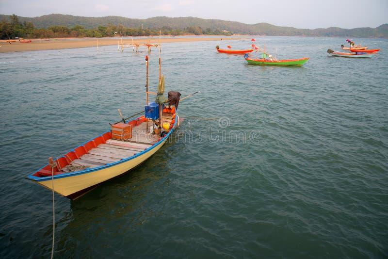 Rybaka ` s łodzie obrazy royalty free