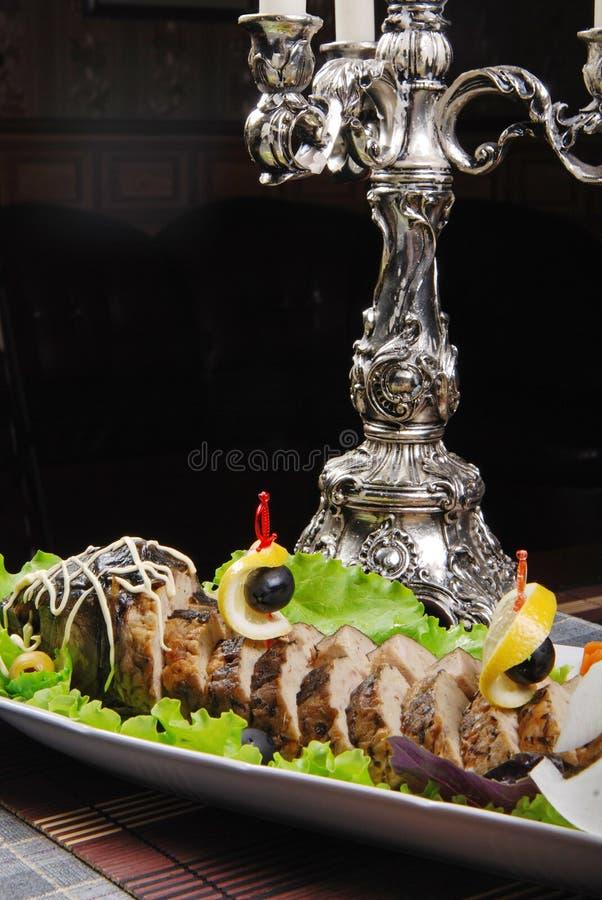 rybi gefilte zdjęcie stock