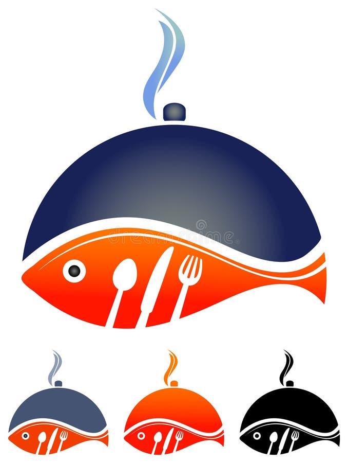 rybi gorący ilustracji