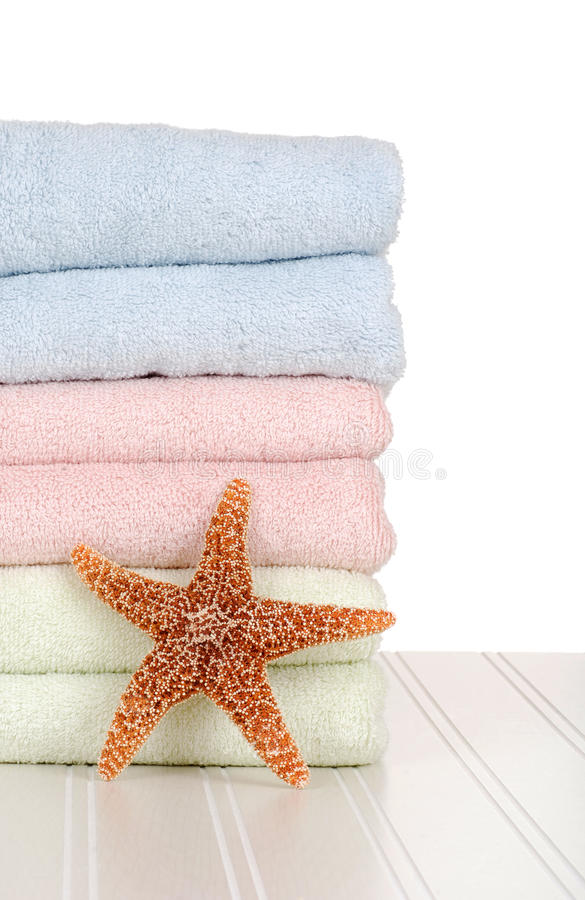 rybi gwiazdowi ręczniki obraz stock