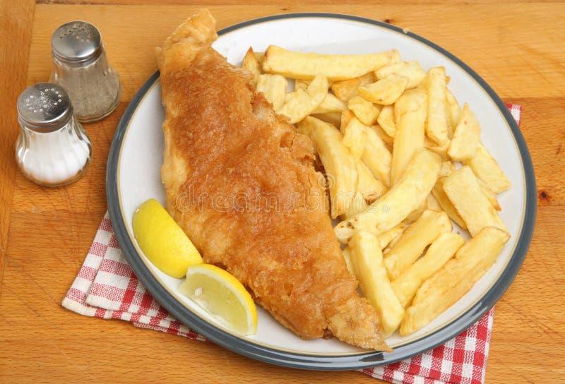 Rybi i układy scaleni posiłek fotografia stock
