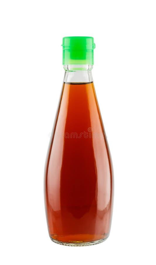 Rybi kumberland w szklanej butelce fotografia stock