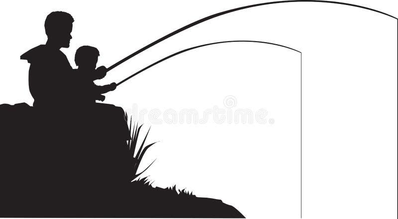 rybi ojca syn ilustracji