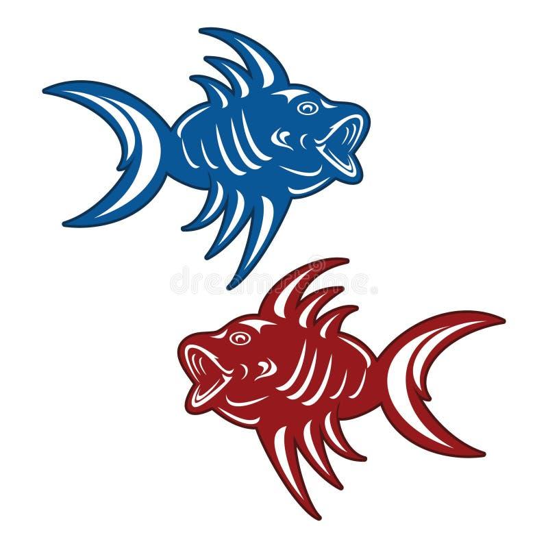 Rybi piranha zdjęcie stock
