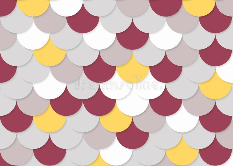 Rybiej skala wzór, abstrakta akcyjny wektor, kolor tekstura, jaskrawy colour, zdjęcie stock