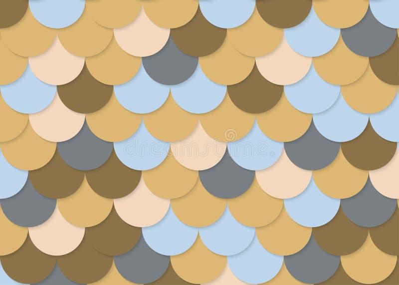 Rybiej skala wzór, abstrakta akcyjny wektor, kolor tekstura, jaskrawy colour, obrazy stock