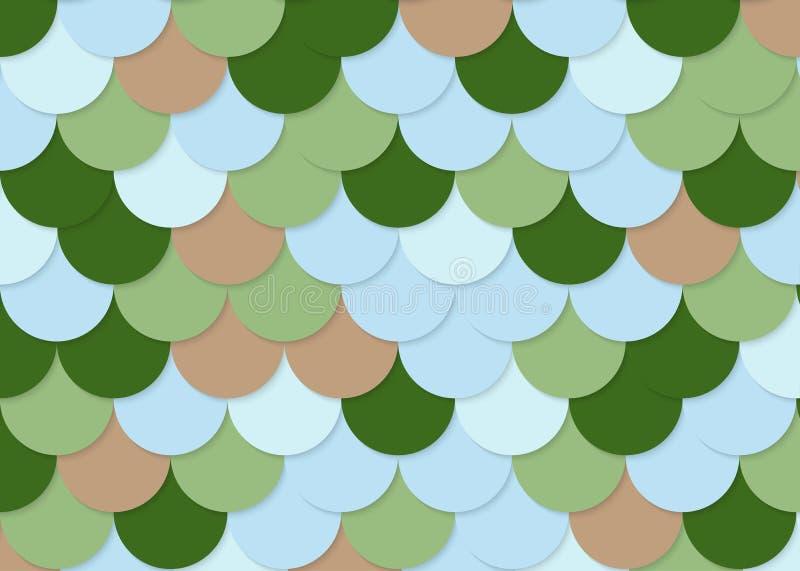 Rybiej skala wzór, abstrakta akcyjny wektor, kolor tekstura, jaskrawy colour, fotografia royalty free