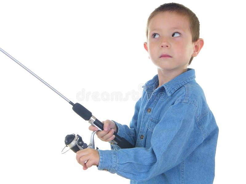 ryby dwóch chłopców obraz royalty free
