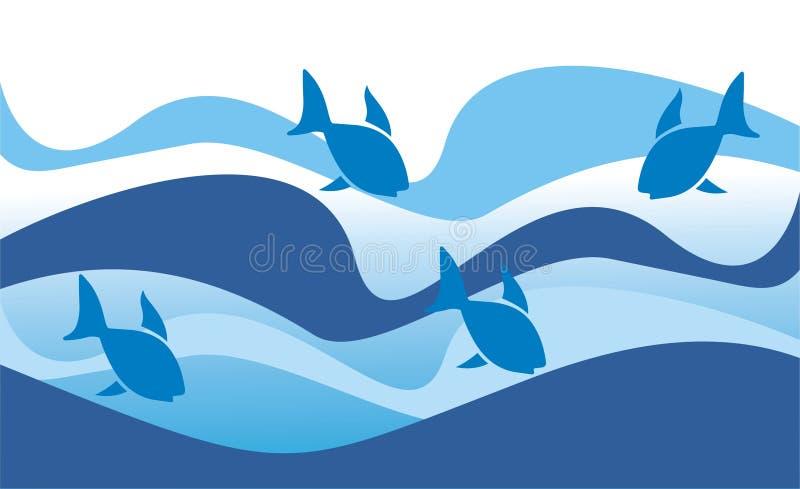ryby morza ilustracji