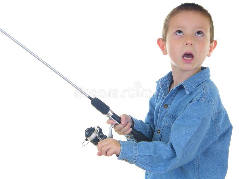 ryby z chłopcem zdjęcia stock
