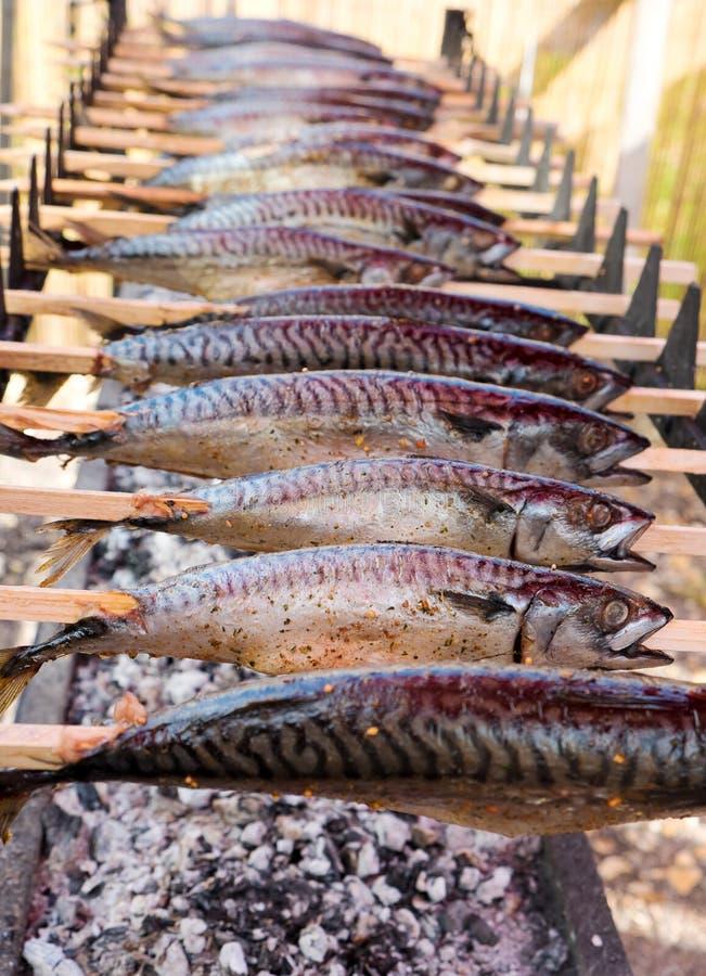 Download Ryby z grilla obraz stock. Obraz złożonej z grilled, fotografia - 41953713
