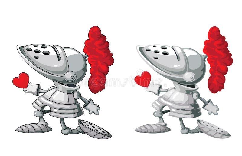 Download Rycerz i serce ilustracja wektor. Obraz złożonej z hełm - 28923085