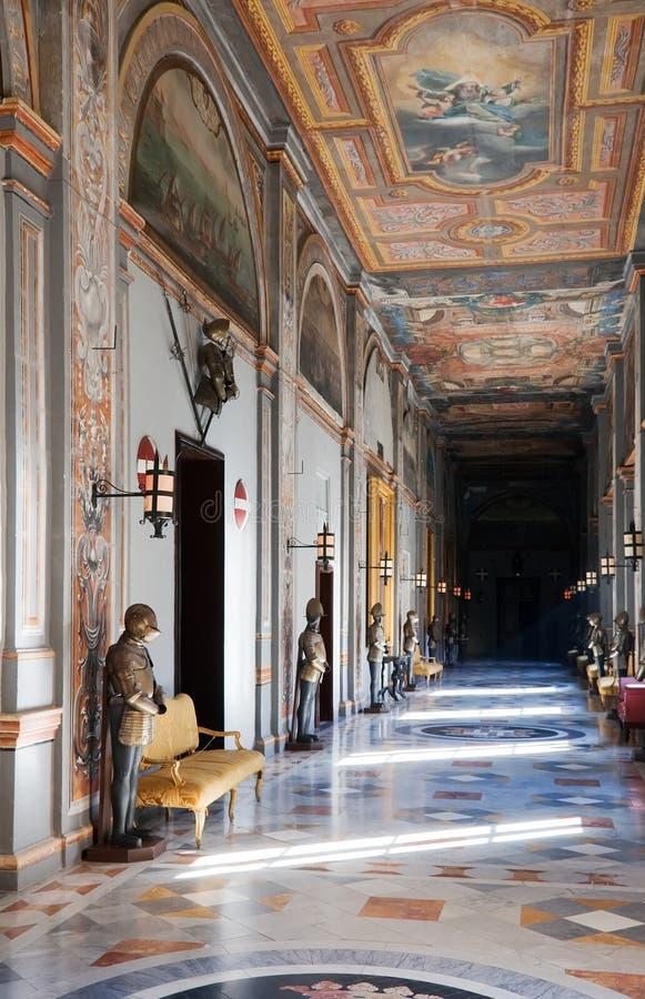rycerza wewnętrzny pałac s fotografia royalty free