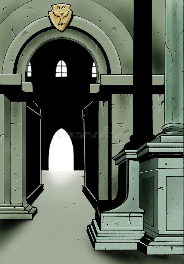 rycerze sądowe ilustracji