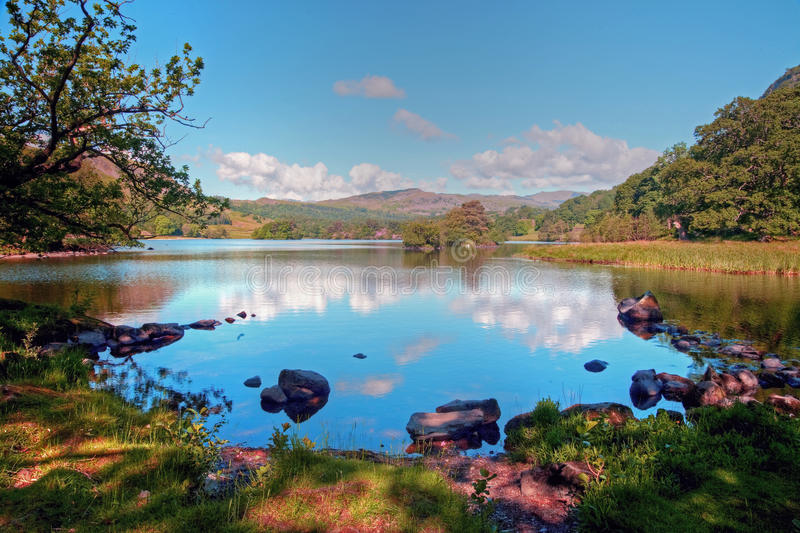 Download Rydal Water in Summer stock photo. Image of rydal, lakeland - 12976522
