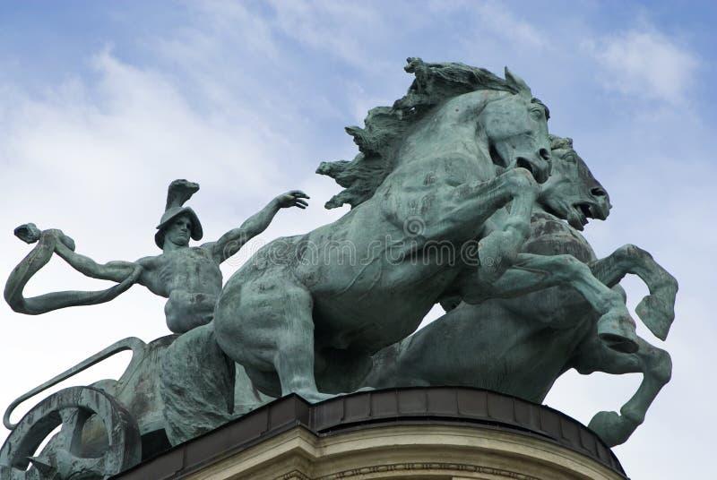 rydwan Hungary zdjęcie stock