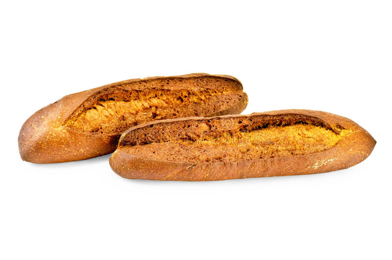 Download Rye baguettes stock image. Image of product, diet, crust - 25151403
