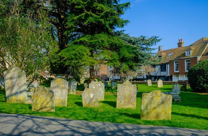 Rye Cemetery-2 fotografia de stock royalty free
