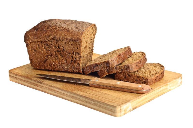 Rye rebanó el pan imagen de archivo libre de regalías