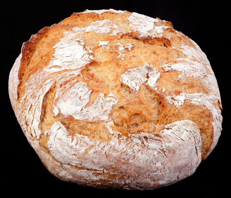 Download Rye Round Bread Cutout Royalty Free Stock Images - Image: 24410009