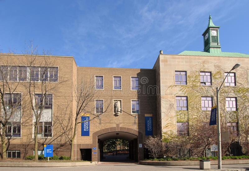 ryerson πανεπιστήμιο στοκ εικόνες
