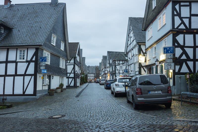 Ryglowi domy Freudenberg zdjęcie royalty free