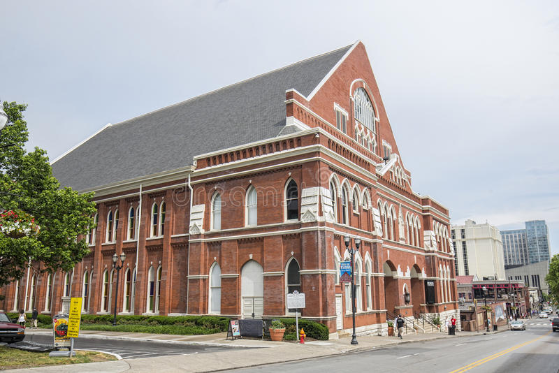 Ryman Auditorium stockfoto