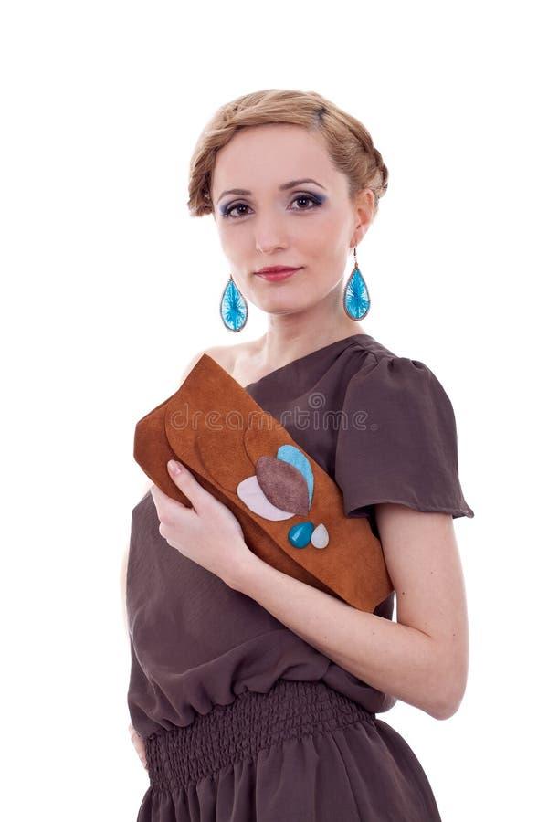 rymma handväskakvinnan fotografering för bildbyråer