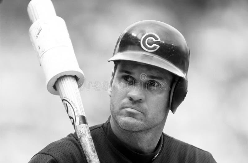 Ryne Sandberg Chicago Cubs imagenes de archivo