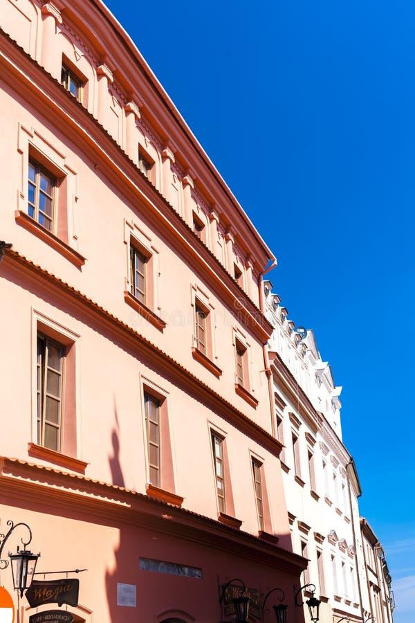 Rynek της παλαιάς πόλης, Lublin, Lublin Voivodeship, Πολωνία στοκ εικόνες με δικαίωμα ελεύθερης χρήσης