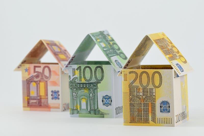 Rynek budownictwa mieszkaniowego, pomyślna przyszłość obraz stock