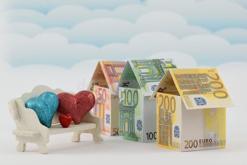 Rynek budownictwa mieszkaniowego, pomyślna przyszłość zdjęcie royalty free