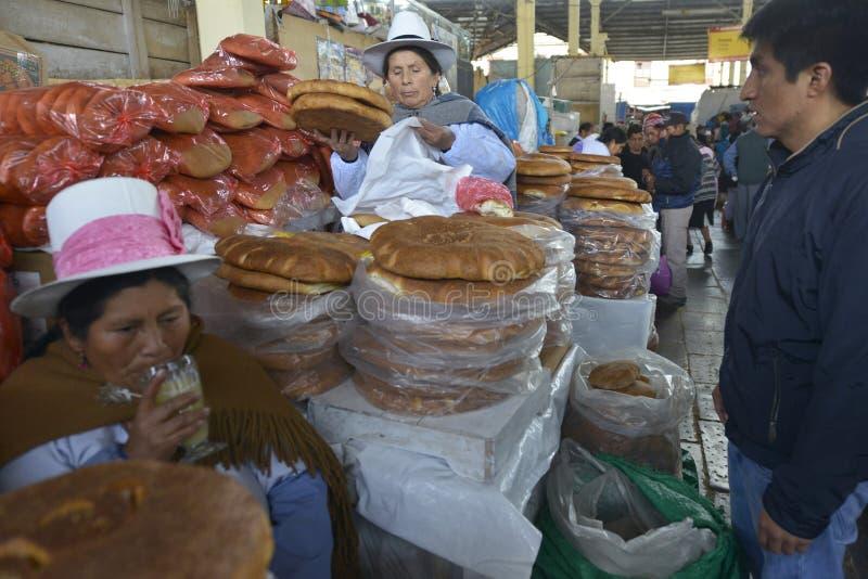 Rynek, Cuzco, Peru zdjęcia stock