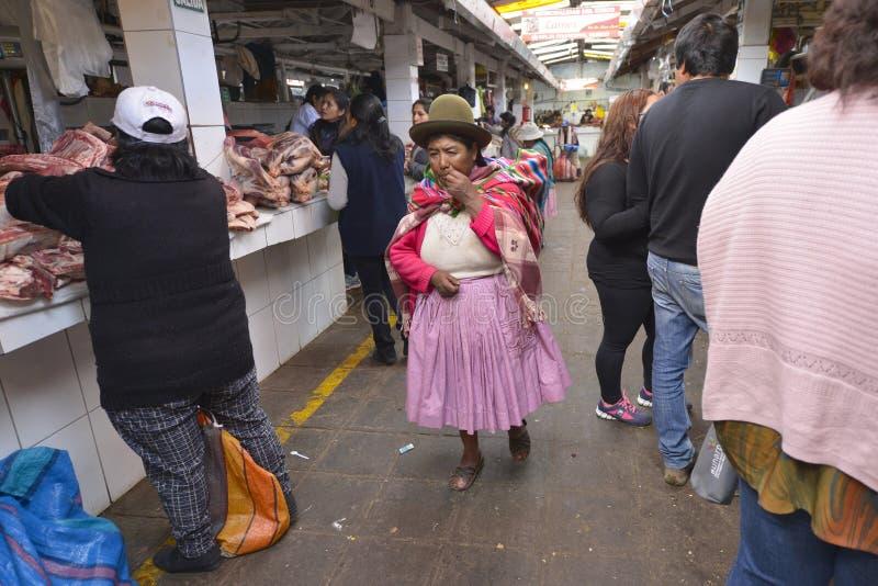 Rynek, Cuzco, Peru fotografia royalty free
