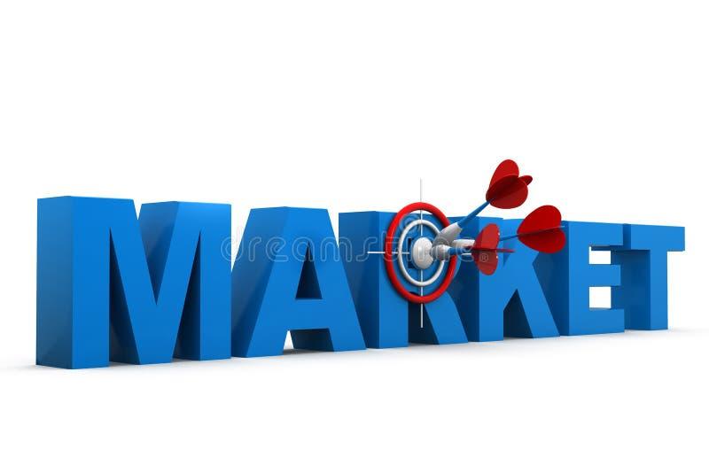 Rynek docelowy ilustracji