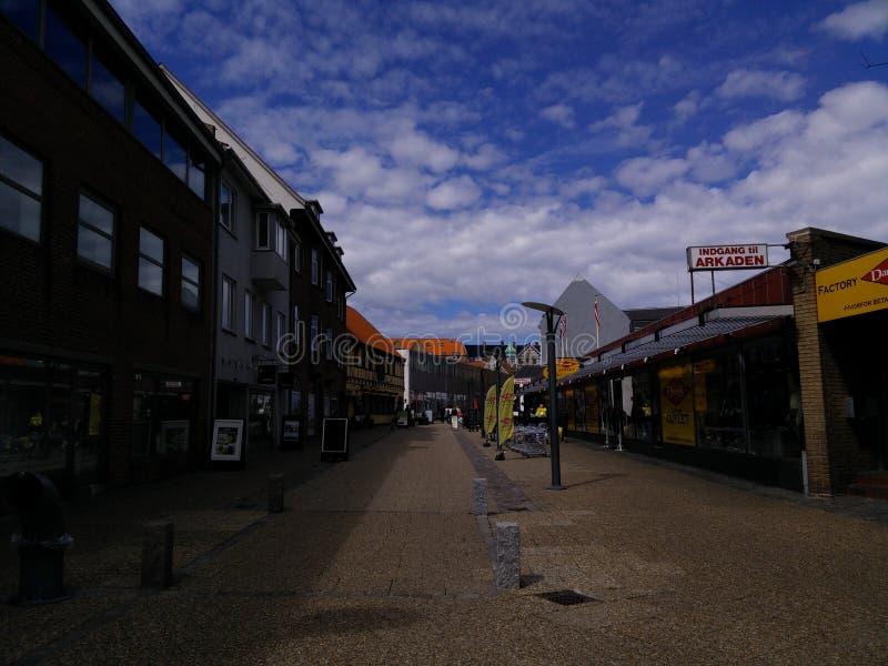Rynek Fredrikshavn obrazy stock