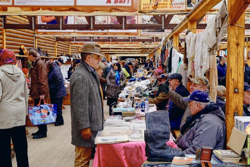 Rynek Izmajłowo w Moskwie, Rosja fotografia royalty free