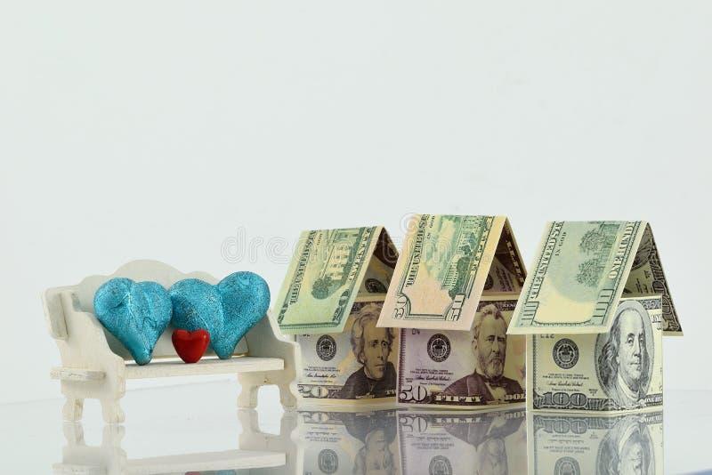 Rynek nieruchomości, pomyślna przyszłość obrazy stock