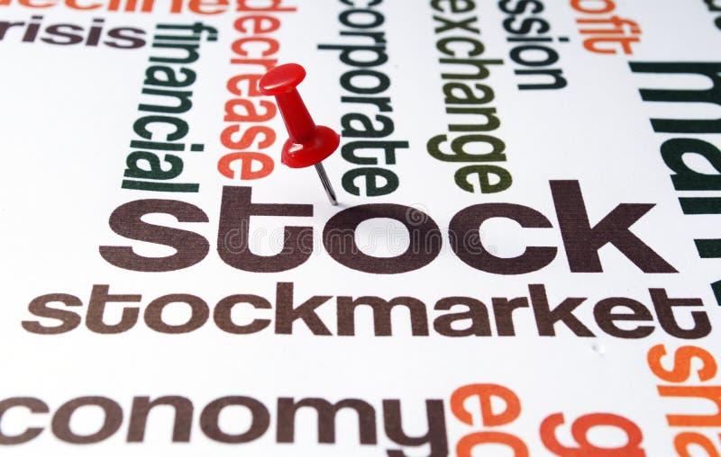 Rynek Papierów Wartościowych zdjęcia stock