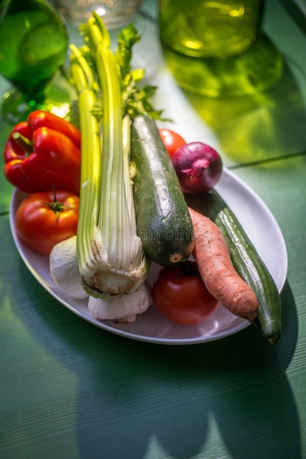 rynek produktów rolnictwa świeże warzywa obrazy stock