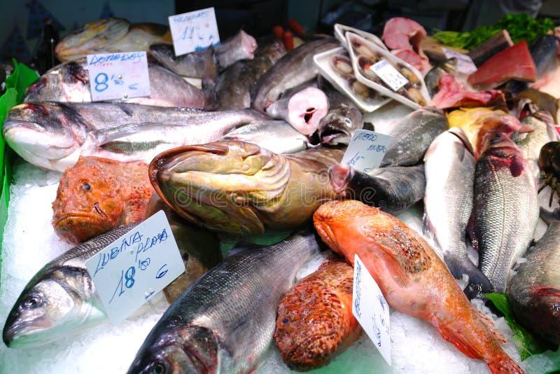 rynek rybny obrazy royalty free