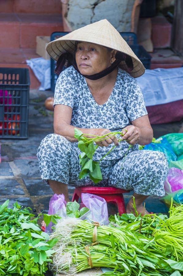 Rynek w Hoi Wietnam zdjęcie stock