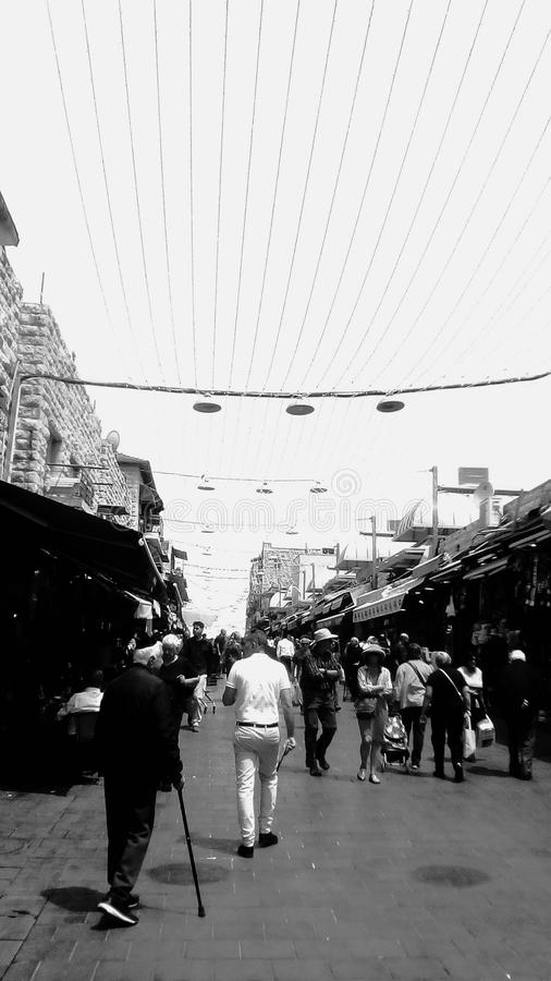 Rynek w Jeruselem obrazy stock