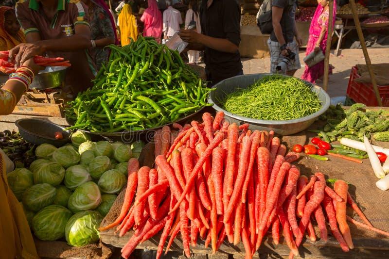 Rynek w Jodhpur India zdjęcia stock