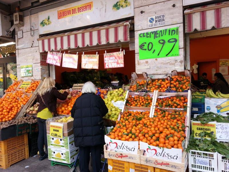 Rynek w Rom fotografia royalty free
