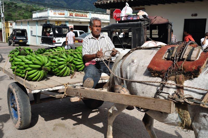 Rynek w Timana, Kolumbia - obraz stock