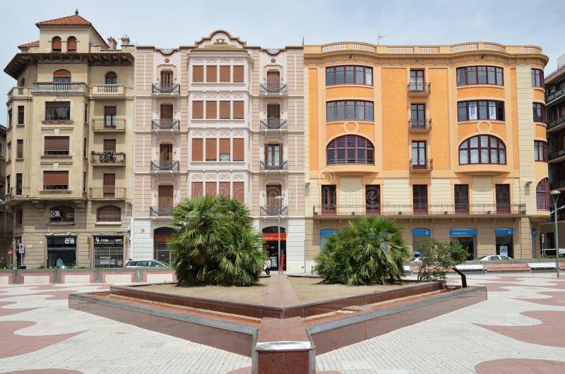 Rynek w Tortosa fotografia stock