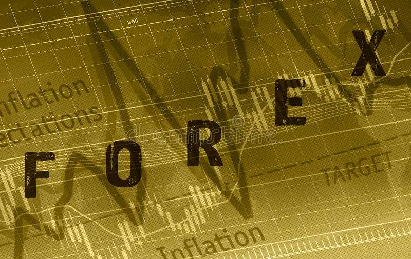Rynki walutowi ilustracji