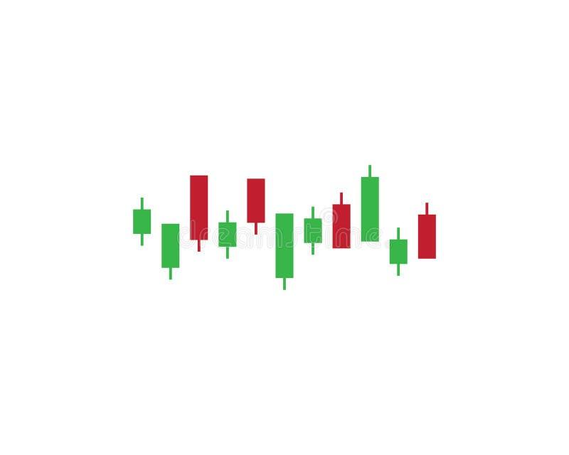 Rynku walutowego targowy wektor royalty ilustracja